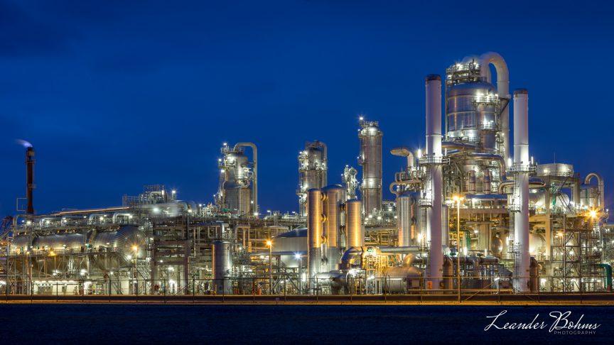Lyondell Chemical Plant at Maasvlakte Rotterdam