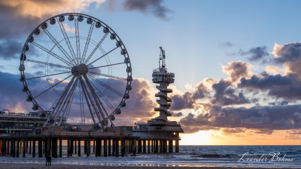 De Pier, Scheveningen at sunset